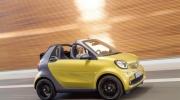 smart fortwo cabrio prime black to yellow titania grey matt