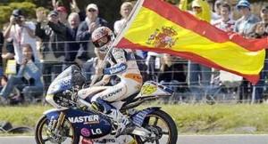 Alvaro Bautista campeón 125cc