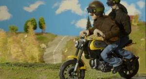 Ducati Scrambler _ video - plastilina (2)